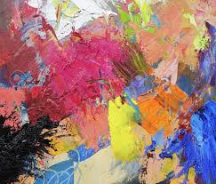 abstract painted canvas stock photo picture and