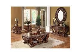 Victorian Coffee Table by Homey Design Upholstery Living Room Set Victorian European
