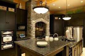 Dark Green Kitchen Cabinets Beautiful Dark Kitchen Cabinets With Granite Countertops Home Design