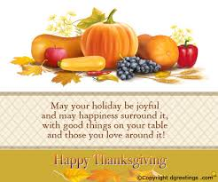 may your be joyful thanksgiving business cards