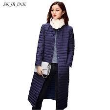 plus size light jacket ultra light down jacket women long puffer coat plus size winter duck