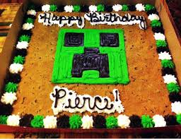 Cool Halloween Birthday Cakes by 25 Best Minecraft Cake Creeper Ideas On Pinterest Mine Craft