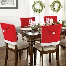aliexpress com buy 2pcs set christmas hat style chair back