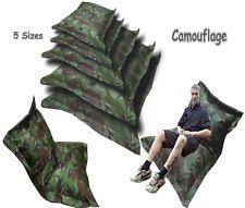camouflage bean bag u0026 inflatable furniture ebay