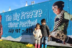 the big freeze festival 1 the big freeze is expected to continue