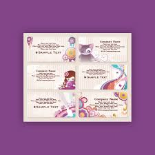 Business Card Eps Template Free Cute Style Business Card Template Vector Ai U0026 Eps