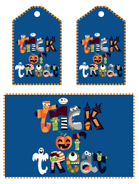 halloween treat tag printables u2013 fun for halloween