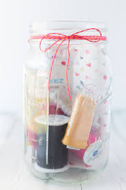 mason jar sewing kit gift i heart nap time