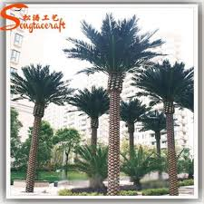 outdoor artificial date palm tree landscaping fake palm trees