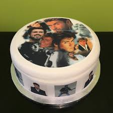 michael cake toppers george michael edible icing cake topper 04 the caker online