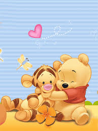 free pooh hug mobile phone wallpaper quality free download