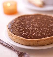 pralin de cuisine tarte fondante au chocolat noir et pralin à partager les