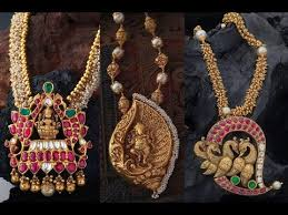 south jewellery designers gold pendant designs indian jewellery