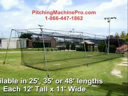 cimarron backyard baseball softball batting cages youtube