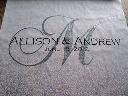 personalized aisle runner personalized aisle runner a wedding is a day marriage is