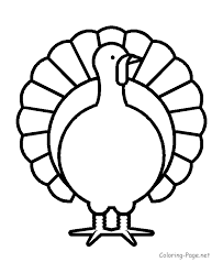 coloring pages of turkeys coloring page of turkey 9 208