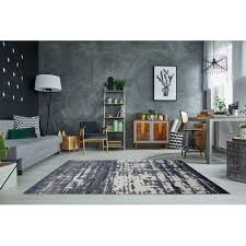 Area Rugs Barrie Wrought Studio Channell Black Area Rug Reviews Wayfair