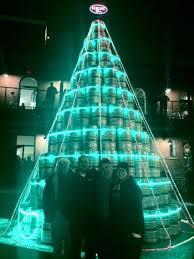 genesee brewery lights up keg tree wxxi news