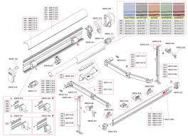 caravansplus spare parts diagram fiamma f45 s 250 450 awning