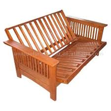wooden futon frame for solid wood folding sofa bed buy folding
