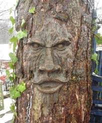 garden mile realistic wood effect garden ornament carved