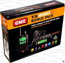 gme tx3120s 5w watt tx670 handheld 80ch channel uhf cb radio