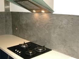 cuisine beton cire cuisine en bton cir top mortier credence cuisine beton cire blanc