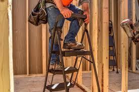 home depot black friday step ladder gorilla ladders slim fold work platform only 29 97 at the home