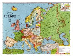 Europe Map Cities by Of Europe 1914 With Cities