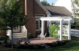 pergola with trellis pergola trellis builder columbus ohio for deck shade u0026 cover suncraft