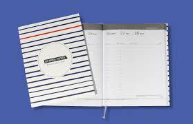 reliure bureau agenda semainier v27 format 21 x 27 cm à couverture imprimée