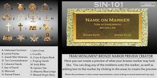 fram monument serving the maryland washington dc and design your bronze marker fram monument