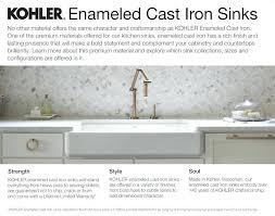 kohler cast iron farmhouse sink antique huge kohler 6 long cast iron kitchen sink double bowlantique