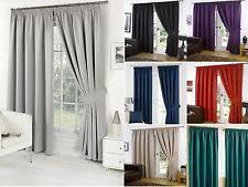 Fuschia Blackout Curtains Thermal Blackout Curtains Ebay