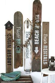 beachy signs make your own rustic lake and bed breakfast signs