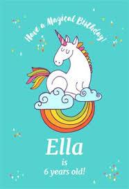 unicorn magic free printable birthday invitation template