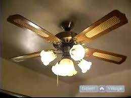 can you replace ceiling fan blades how to install ceiling fans how to turn on the power test a