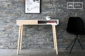 Schreibtisch Klein Holz Schreibtisch Holz Vintage Möbel Pib