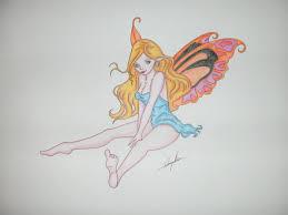 sketches for cute easy fairy sketches www sketchesxo com
