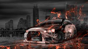 lancer mitsubishi 2015 mitsubishi lancer evolution x tuning jdm anime city car 2015 el tony