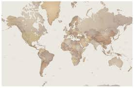 Large Framed World Map by World Map Mural P111501 0 Mr Perswall Wallpapers A Photo