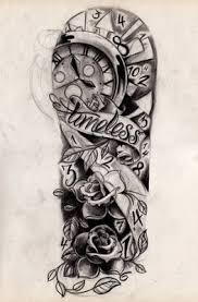 devil woman fire n flame tattoo design