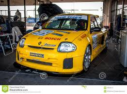 renault clio v6 white renault clio v6 racing car editorial photography image of august