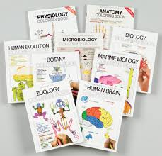 biology coloring books zoology