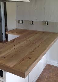 wood countertop trim bstcountertops diy reclaimed wood countertop averie lane