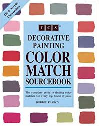 decorative painting color match sourcebook bobbie pearcy