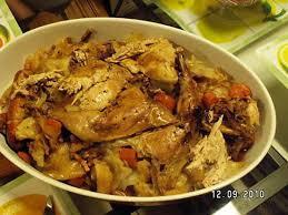 cuisiner une poule faisane recette de faisan au chou par lapopottealolo com