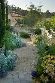 Backyard Gravel Ideas - gravel garden design ideas landscape mediterranean with tuscan