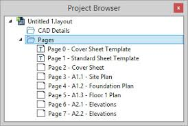 setting up layout template pages