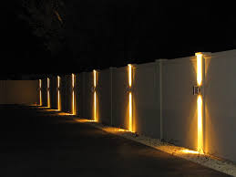 solar lights for chain link fence is it possible to light up your fence straight line fence chain